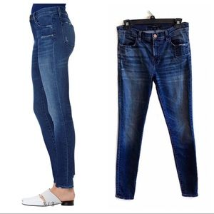 J Brand 620 super skinny distressed jeans 28